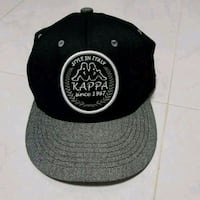 black and gray fitted cap Singapore