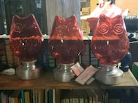 Glass owl lamps brand new West Memphis, 72301