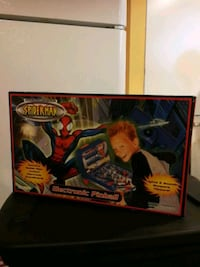 red and black Spider-Man print box Markham, L6E 1H7