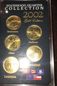 2002 Statehood Quarter Gold Edision