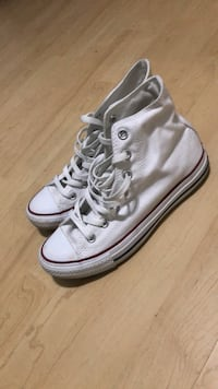 High top White Red & Blue Converse