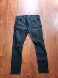 Pacsun Distressed Jeans 30x30 Black Georgetown, 78626