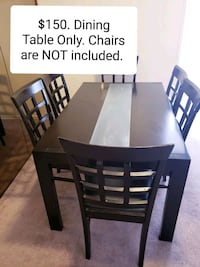 Dining Table only - $150 Toronto, M9B 6C4