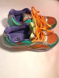 Geers- neon Orange/mint, size: 7, no box. NEW Henderson, 89015