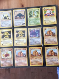 assorted Pokemon trading card collection Edmonton, T6W 2B8