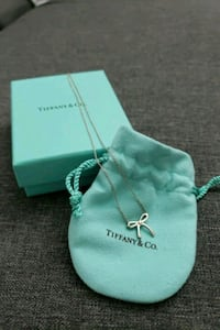 Tiffany & Co. Authentic silver necklace jewelry Burnaby, V3J 1N4