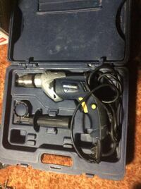 black and grey corded power drill in case وينيبيغ, R2W 3K3