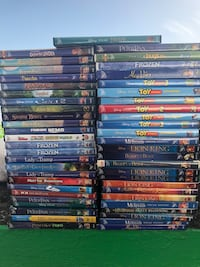 Disney kids dvds 10 each firm in north Lakeland pick up only Lakeland, 33803
