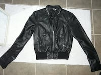 H&M Divided Black Lined Bomber Jacket, Ladies Size XS, $15 Mississauga