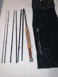 March Brown Hidden Water 9'  5WT 7 Piece Fly Fishing Rod Springfield, 22150
