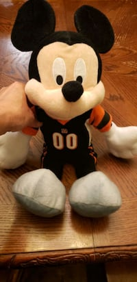 brand new condition NFL BENGALS Mickey mouse