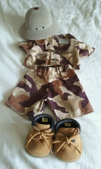 brown and black camouflage vest Puyallup, 98373