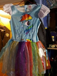 My Little Pony costume small 3t -4t Mead, 99021