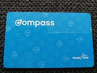 unregistered compass card Vancouver, V5N 1T3