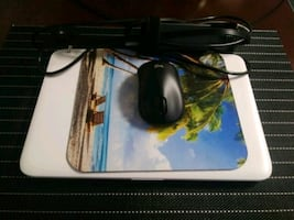 Laptop w/ Charger (+Mouse & Mouse Pad)