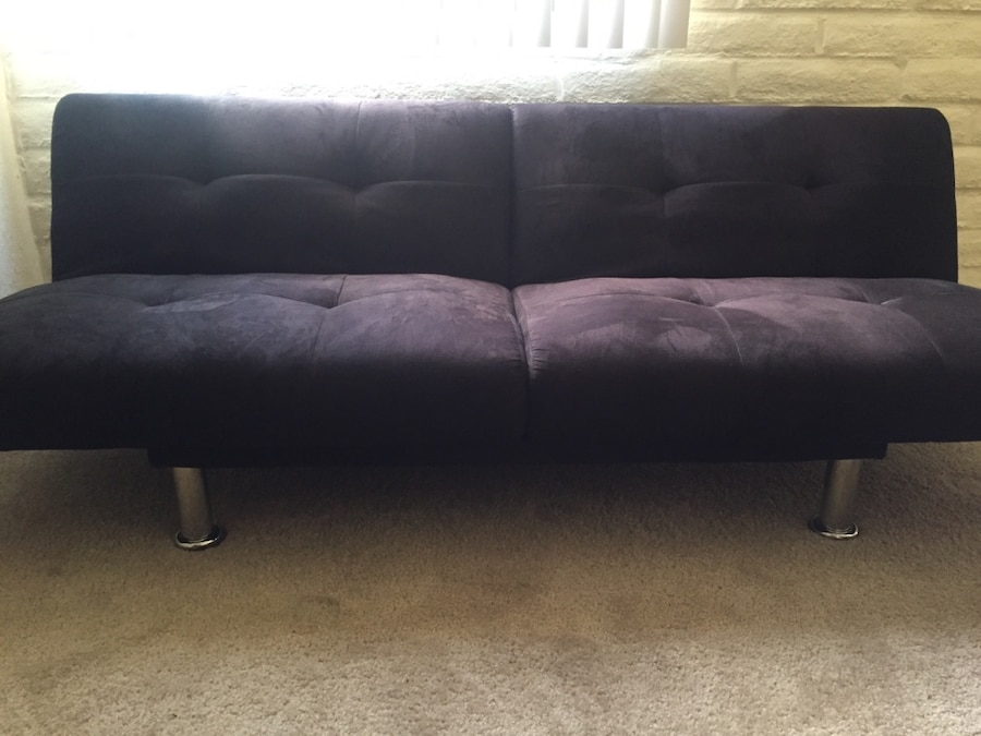 Black Fabric Futon Chair In Tucson