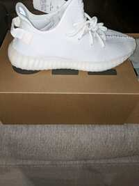 eb35aaa56 Used pair of white adidas Yeezy Boost 350 with box for sale in ...