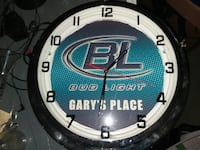 Bud light clock St Louis, 63150