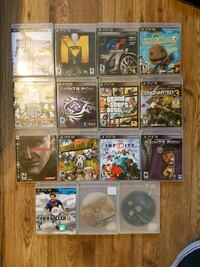 assorted Sony PS3 game cases Ottawa, K2C 0A4