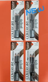 [8] New Covergirl Professional Brow Pencils McLean