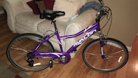 Purple and white hardtail mountain bike Baltimore, 21225