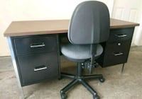 Office desk and chair. Surrey, V4N 0W2