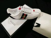 white Gucci  Guccisima Ace Sneakers Womem  size 8 Gaithersburg, 20879