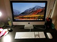 "iMac 21.5"" Intel core i5 3GHz 8GB hard drive 1TB Leesburg"