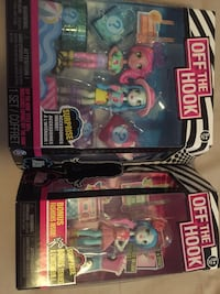 Brand New OFF THE HOOK Dolls
