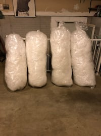 4 Large Bags of Bubble Wrap Shipping Packing Supplies 2 for $15 4 for $25    Manchester, 21102