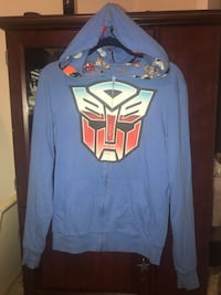Transformers Autobots Reversible Men's Hoodie Full Zip Medium 2009  Oakland Park, 33309