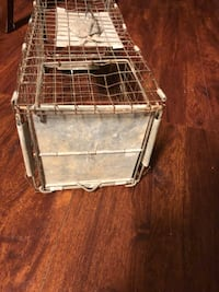 23x8x8 wire metal trap. 30.00. 212 north Main Street Buda. Johanna Antique vinyls furniture sterling silver jewelry collectibles mantiques fishing Buda, 78610