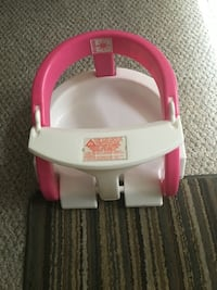 pink and white plastic floor seat Columbia, 21044