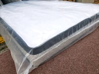 Organic cotton double full mattress delivery $30