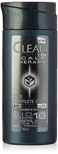 STOCKING STUFFER * 50 ml Travel Size Clear MEN 2 in 1 Shampoo & Conditioner