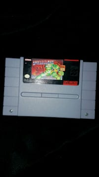 Super nintendo  Game Battle clash