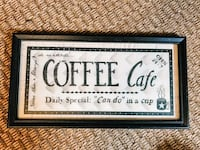 Coffee Cafe sign  New Orleans, 70119