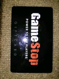 Game stop gift card $20 (see info) Louisville, 40202
