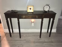 Bombay hall entrance table, mint condition  Sorry but price is firm Toronto, M9V