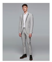 BUY ONE, HALF OFF 2nd - Men's BRAND NEW ZARA Suit sz  [TL_HIDDEN] R Gray New York, 11415