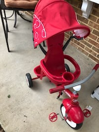 toddler's red and black push trike Woodbridge, 22192
