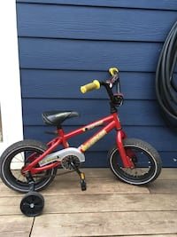 Norco bike with training wheel New Westminster, V3L 3V1