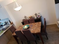 Dinning table with 6 chairs Port Coquitlam, V3B