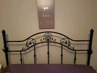 Queen headboard & metal frame  Napanee, K7R 1C9