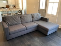 West Elm Henry® 2-Piece Chaise Sectional LOUISVILLE