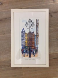 "Dublin, Ireland art - ""Grafton Street"" - Jim Scully Toronto, M4J 5C2"