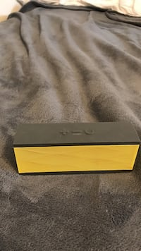 rectangular black and yellow bluetooth speaker Oxford, 38655
