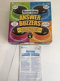 Recordable Answers Buzzers Des Plaines, 60016