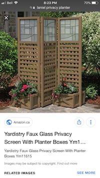 Privacy planter screen MISSISSAUGA