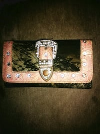 Camo and pink cowgirl wallet Statesville, 28625